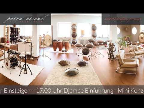 Petra Eisend - Tag der offenen Tür im Handpan Studio