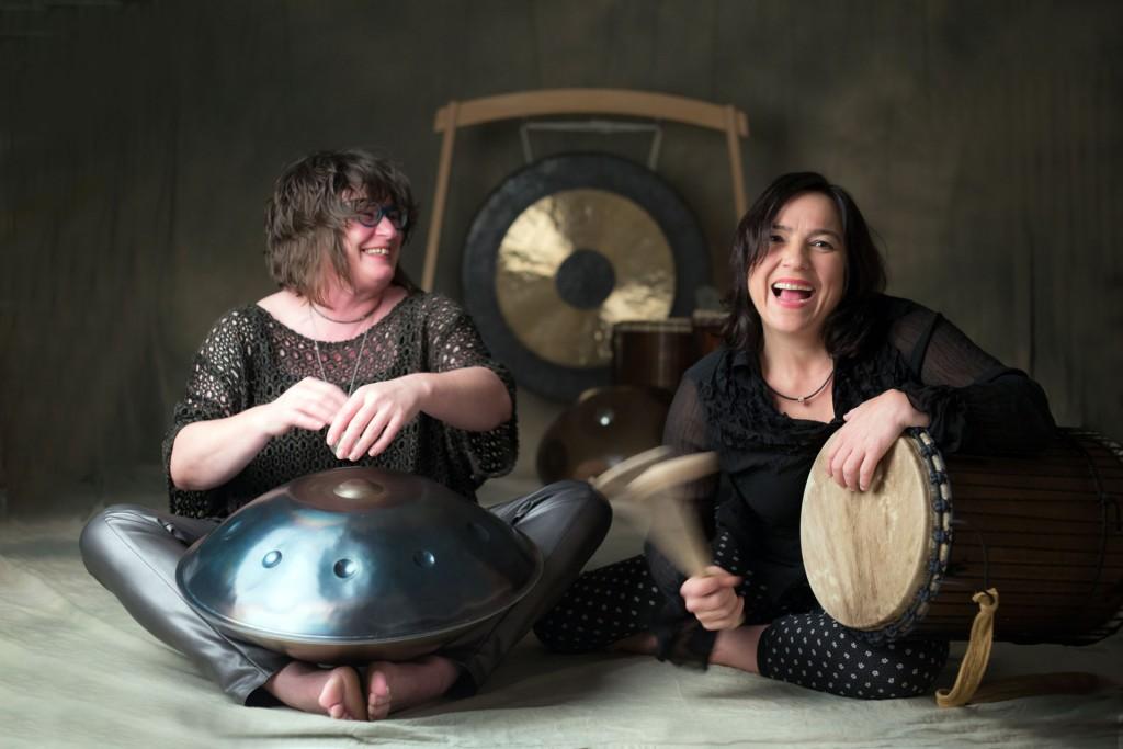 Human Beats - Petra Eisend (Schweinfurt) und Karin Graf (Saarbrücken)