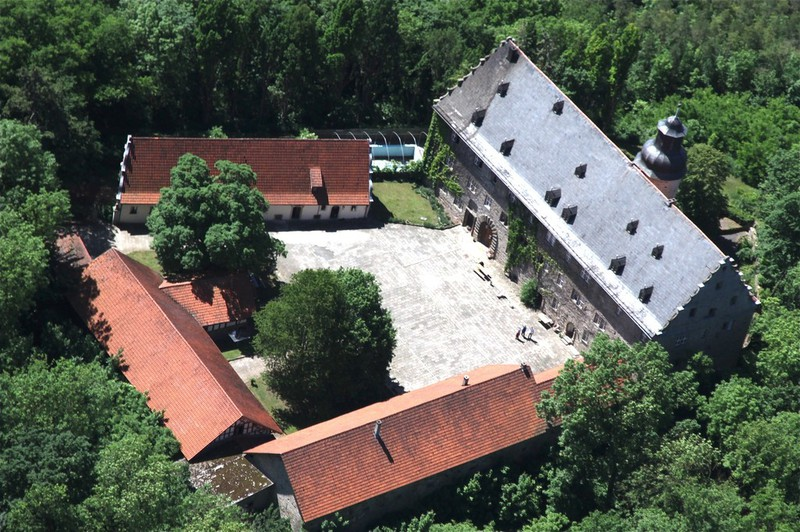 Neujahrstrommeln Schloss Bettenburg 2021