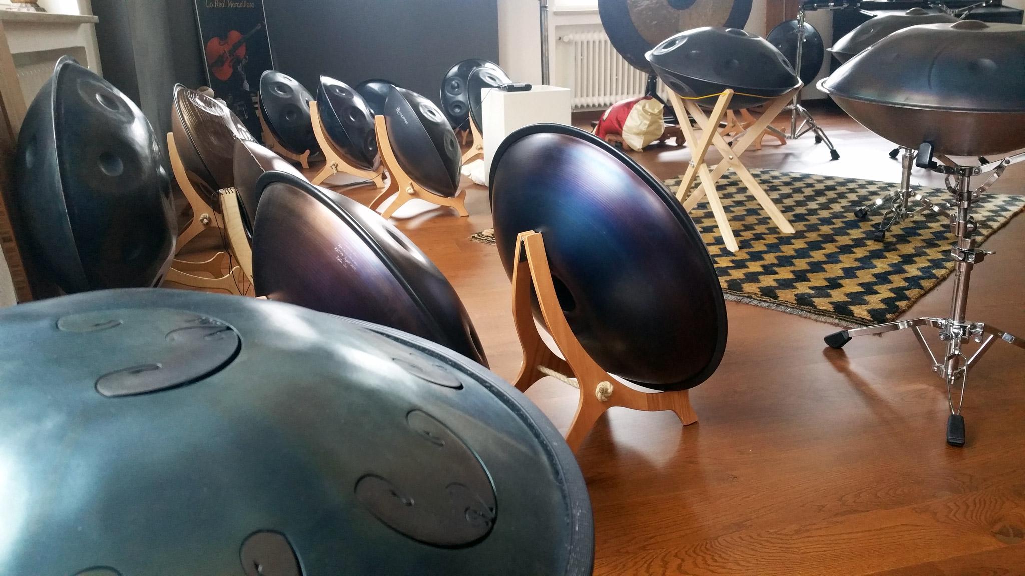 Hang & Handpan Modul Tag – Melodie im Handpan Studio Schweinfurt