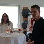 Handpan Studio Schweinfurt Tag der offenen Tür mit Petra Eisend und OB Sebastian Remelé