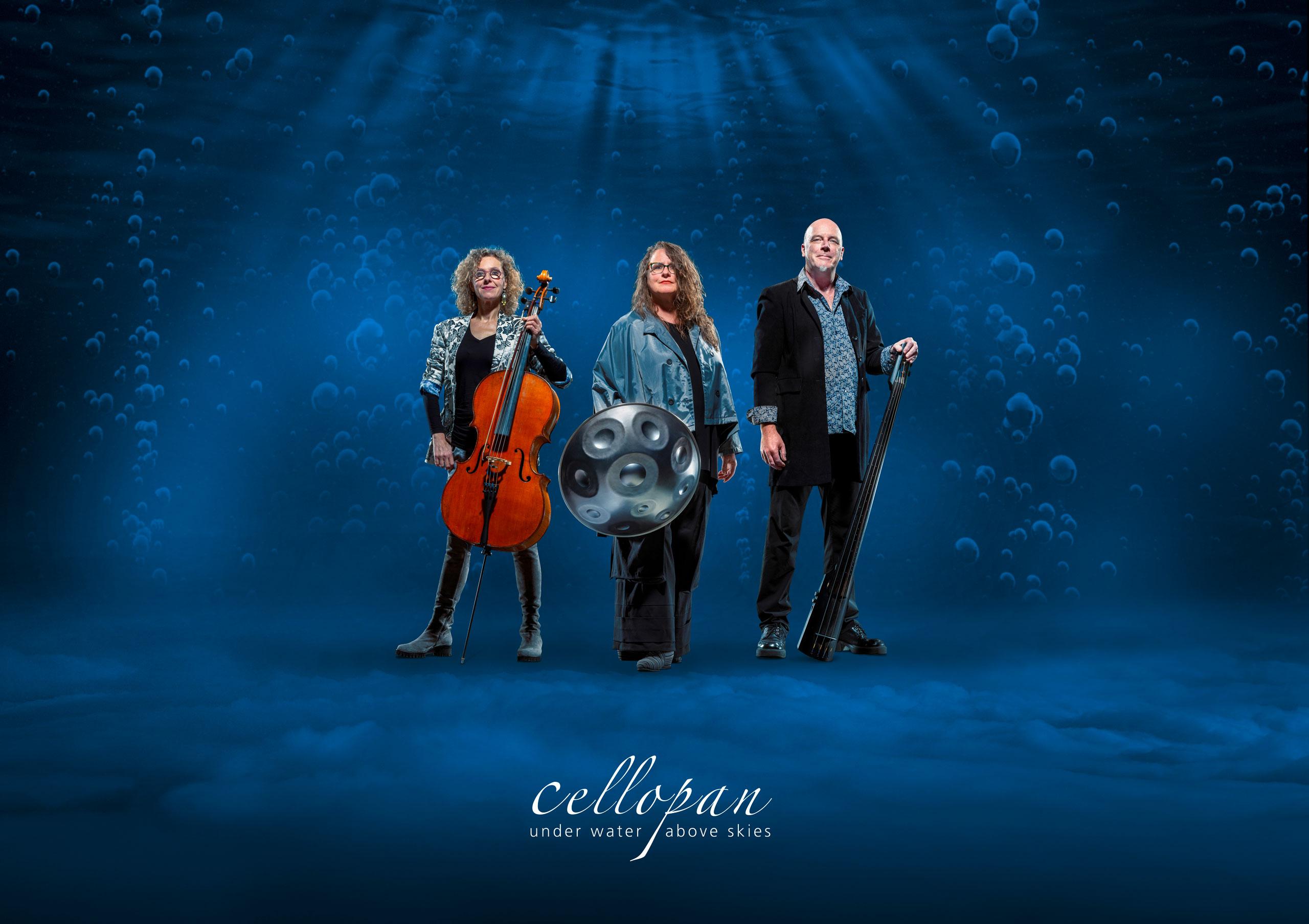 CelloPan Trio - Petra Eisend, Sibylle Friz & Wolfgang Riess
